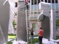 Pour la suite du monde_Sculpture_Pierre Leblanc