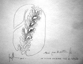 Dessin original de Pierre Leblanc