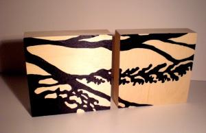 Panneaux de bois de Pierre Leblanc