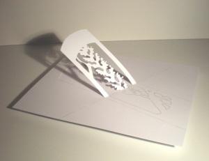 Sculpture papier de Pierre Leblanc