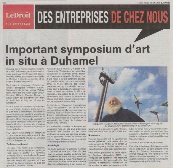 Le Droit_Symposium Duhamel_Pierre Leblanc