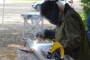 Sculpteur Pierre Leblanc_Symposium dart in situ_Duhamel-