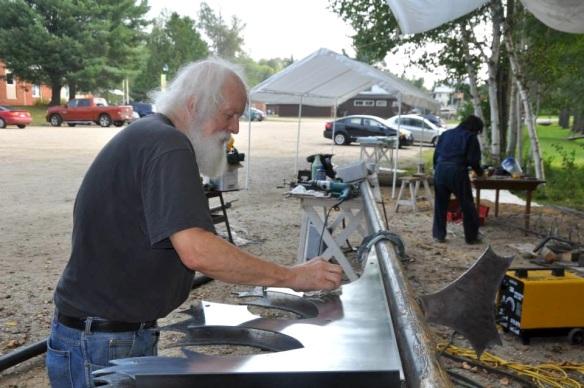 Sculpteur Pierre Leblanc_Symposium Duhamel