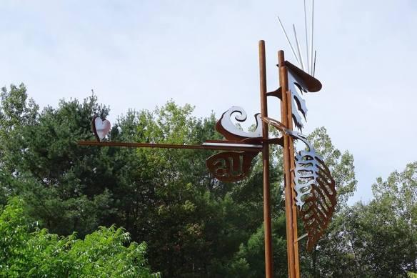 Sculpture de Pierre Leblanc_Hommage à Tinguely.
