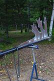 Sculpture de Pierre Leblanc_Symposium dart in situ_Duhamel