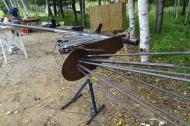 Sculpture_Pierre Leblanc_Symposium dart in situ_Duhamel