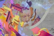 Murale_Le sage et la muse-